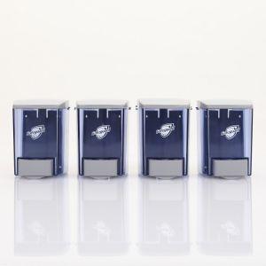 Safeguard® Compact Manual Liquid Hand Soap Dispenser, Pack of 4