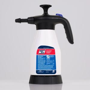 Clean Quick Broad Range Quaternary Sanitizer, 1.5L Portable Pump Up Sprayer