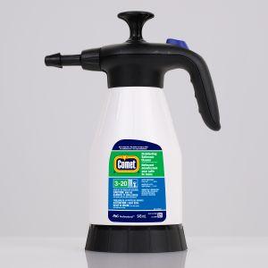 Comet Disinfecting Sanitizing Bathroom Cleaner, 1.5L Portable Pump Up Sprayer