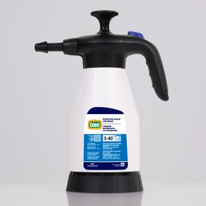Comet Disinfecting Cleaner with Bleach, 1.5L Portable Pump Up Sprayer