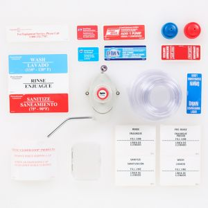 Starter Kit For Manual Dilution of Concentrated Chemical, with Labels and Spare Parts
